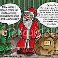 Illu finale de mon ordure de père noël + info concours anniversaire + marché de noël