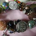 bracelet multiples matières