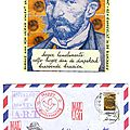 Art project : write a letter to vincent / ecrivez une lettre à vincent / schrijf een brief naar vincent !