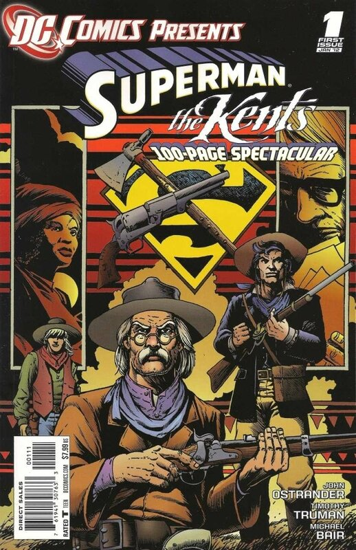 DC comics presents superman the kents 01