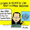 Conseil de sécurité de l'onu, attaque israélienne, gaza et réaction...réaction