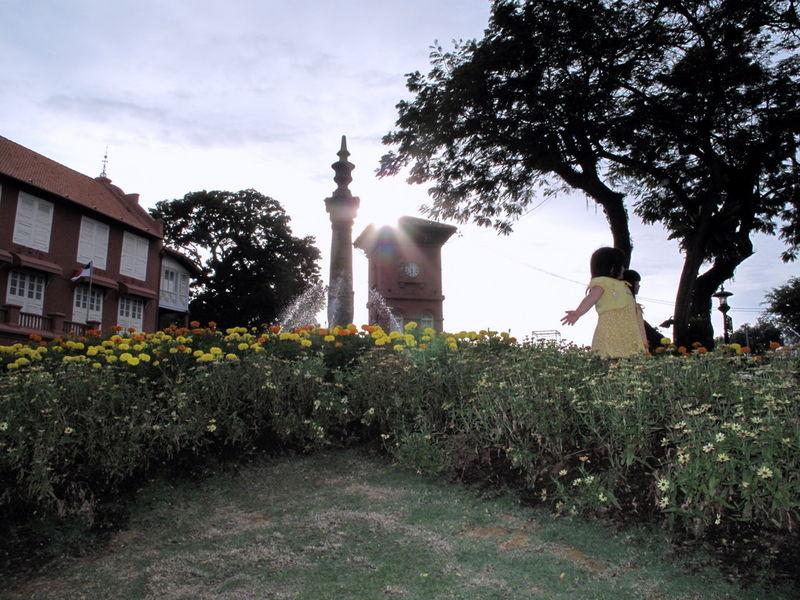 Jardin à Malacca