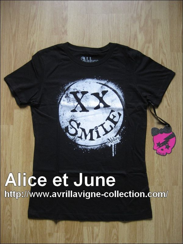 Abbey Dawn Smile Tee