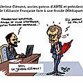 Dessins de presse 2017- Jérôme Clément retaillé