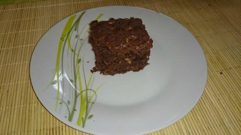 brownie cholat noisette et riz soufflé