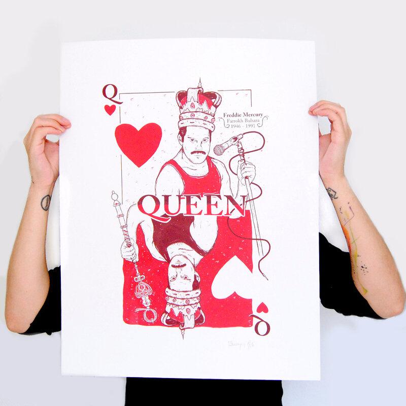 serigraphie-affiche-poster-freddie-mercury-queen-artrock