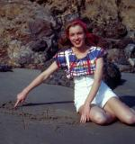 1946-08-CA-Castle_Rock_State_Park-blouse_striped-by_william_carroll-012-1