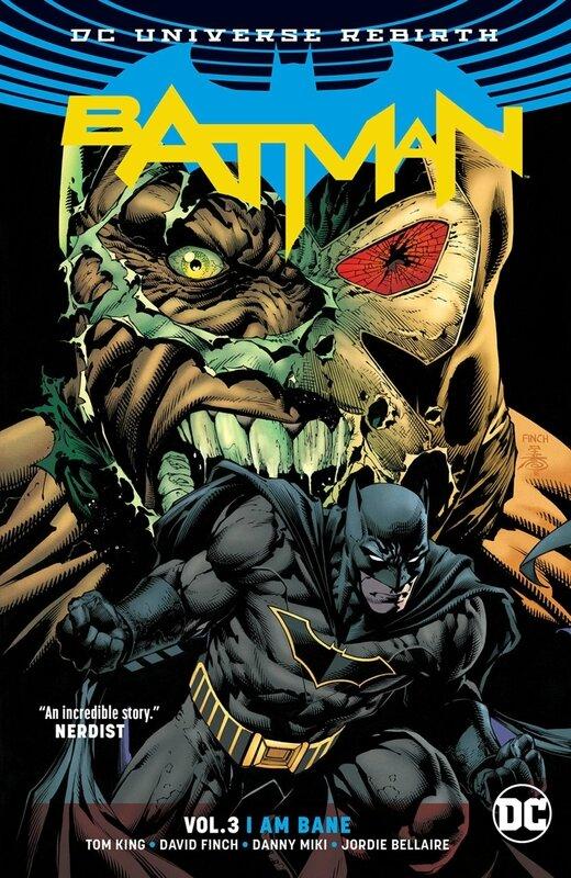 rebirth batman vol 03 I am bane TP