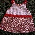 robe ange rouge recto
