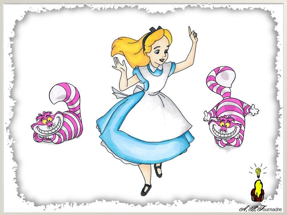 Carte Pop Up Alice Au Pays Des Merveilles Partie 1 Les