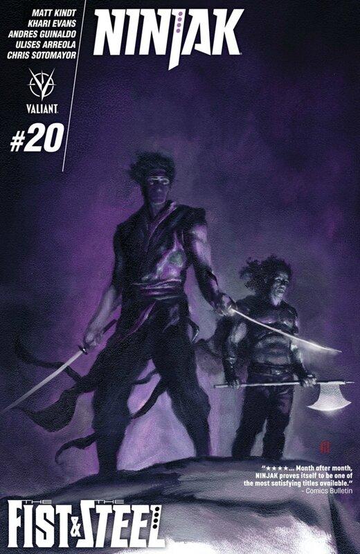 valiant ninjak 20