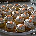 Mini-cupcakes au saumon fumé