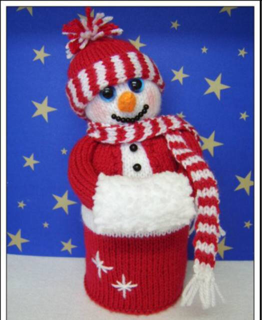 Traduction Snuggly the Snowman - Phoenixknits