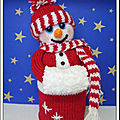 Snuggly the snowman - phoenixknits