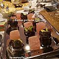 Bonbon pistache chocolat