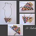 Collier triangle puzzle lucy clay