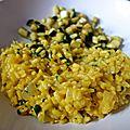 risotto au safran à la milanaise