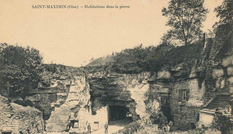 St Maximin habitation troglodytes