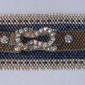 Forever in blue jeans - beadwork
