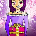 Joyeux anniversaire!/dessin sorti de mon imagination(^ㅁ^)