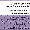 blog vente privée 2letmoi 6 avril 2013
