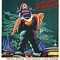 forbidden planet affiche poster