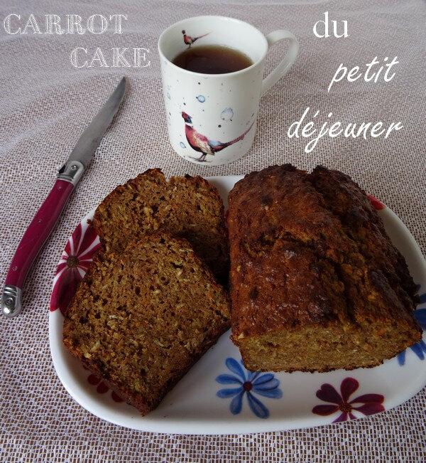 Carrotcake du Petit Déjeuner