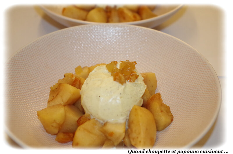 pommes, cannelle et fruits confins au four-7920