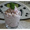 Tartinade apéritive au salami ( thermomix)
