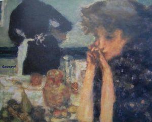Le petit déjeuner de Misia Natanson détail 1899