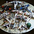 X-wing collection part one : lego