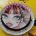 Gâteaux monster high