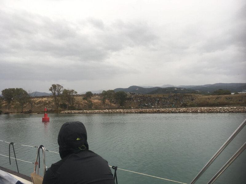 La décharge de Lefkas marina 231018