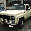 Chevrolet c10 custom deluxe stepside 1977-1979