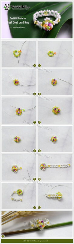 1PandaHall-Tutorial-on-Fresh-Seed-Bead-Ring