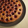 Gateau moelleux aux framboises et a la fleur d'oranger / raspberry-orange blossom coffee cake
