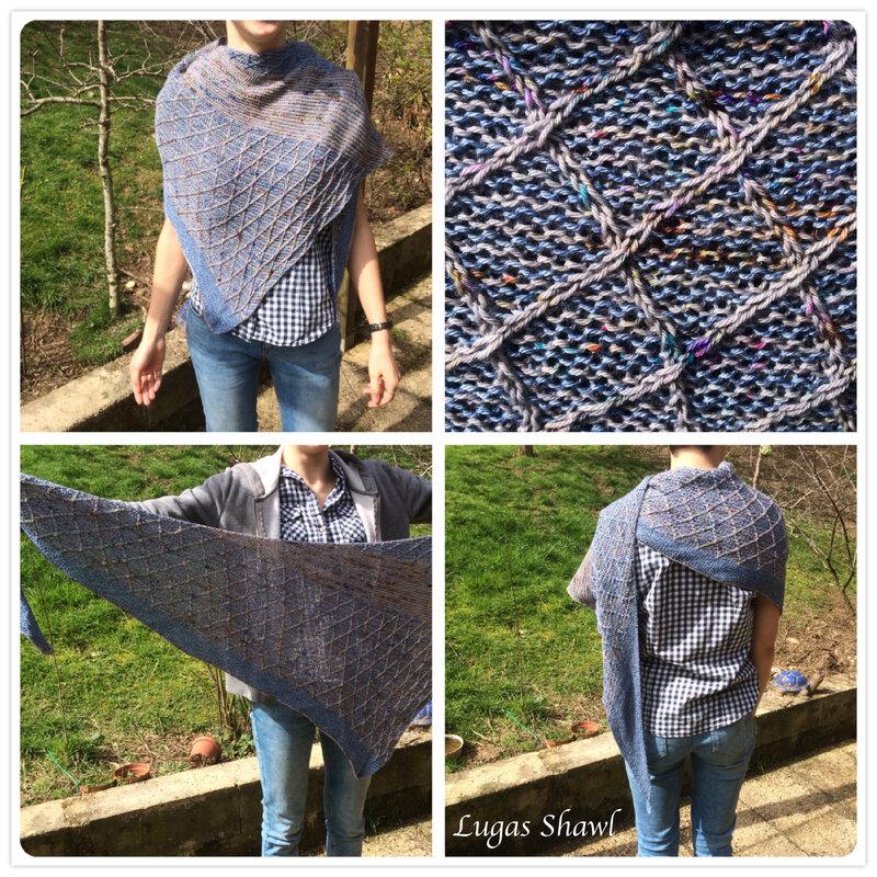 Lugas shawl