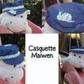 Casquette Maïwen