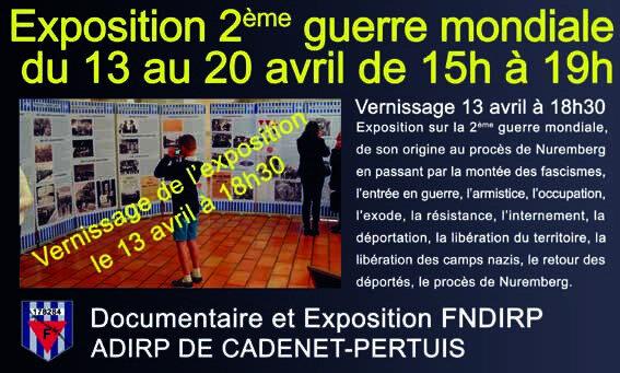 Exposition FNDIRP-ADIRP