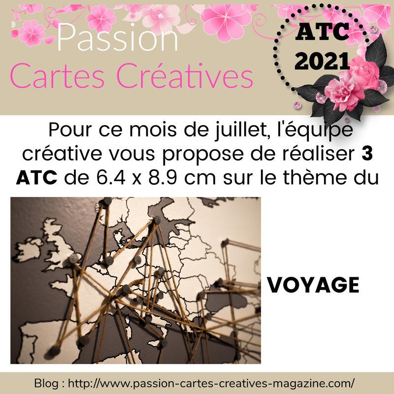 ATC - 1er juillet 2021 - VOYAGE