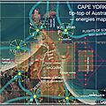 Voyage # 48 4/4/2044 cape-york tip-top of australia / etoiles de sol