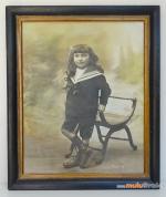 TABLEAU-Le-garçon-aux-cheveux-longs-1933-muluBrok-5-antique