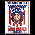 Alice cooper candidat a la présidentielle américaine