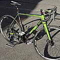 Nerzh dune cadre cyclocross carbone