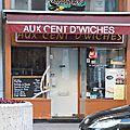 Aux cent d'wiches bruxelles belgique restauration