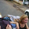 003 Depart de Managua pour l´ile d´Ometepe : dans le pick-up
