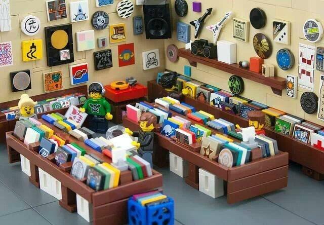Records Lego