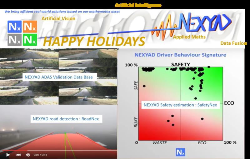 Happy Holidays NEXYAD AUTO