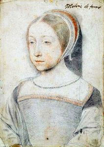 Renée de France par Jean Clouet (Chantilly)