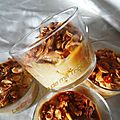 Mousse de mascarpone au café et caramel au beurre salé